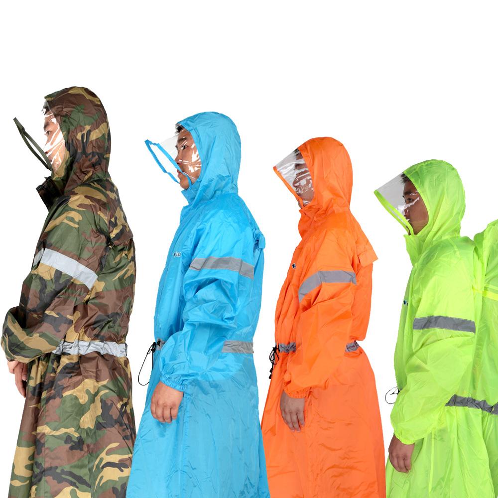Многофункциональный 3 в 1 плащ на открытом воздухе путешествие дождь пончо рюкзак дождевик водонепроницаемый палатка тентовые восхождение отдых туризм