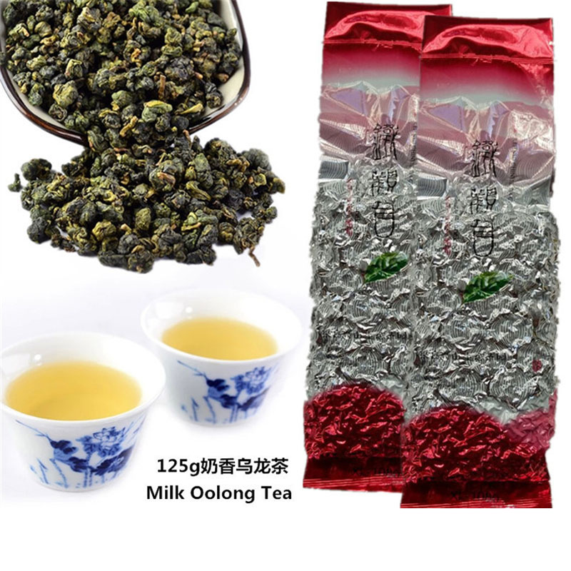 Taiwan JinXuan Alishan Milk Oolong Tea Taiwan Oolong Tea No.13 Original 125g(China (Mainland))