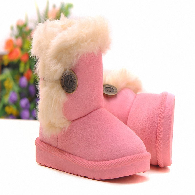 Гаджет  Children Snow Boots 2015 winter baby Thick Warm Shoes Soft Cotton Suede Buckle Boys Girls Boots Boys Boots Kids Shoes QY-701 None Детские товары