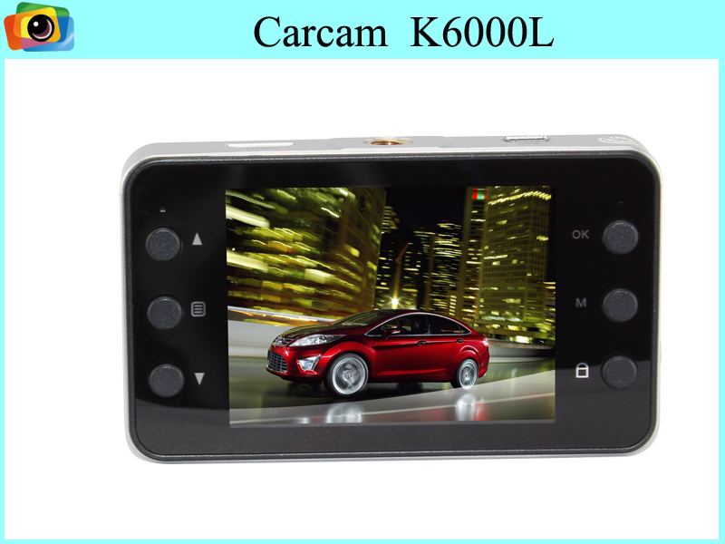 K6000 Car DVR Novatek Chipset Camera Full HD 1080 25fps 140 degree angle 2.7 inch screen With G-Sensor HDMI Car Video Recorder<br><br>Aliexpress
