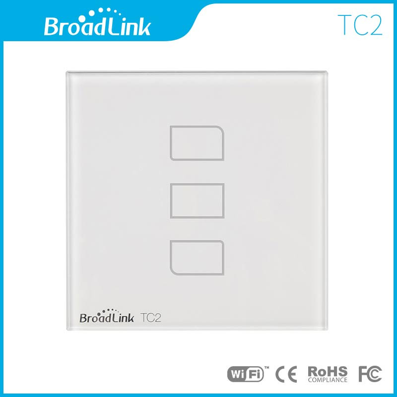 EU-Standard-Broadlink-TC2-3-Gang-Wireless-Remote-Control-Wifi-Wall-Light-Touch-Screen-Switch-170V