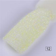 ホログラフィック砂糖ネイルグリッター砂浜ホロディスプレイ粉末 1 グラム夏キャンディ色(China)