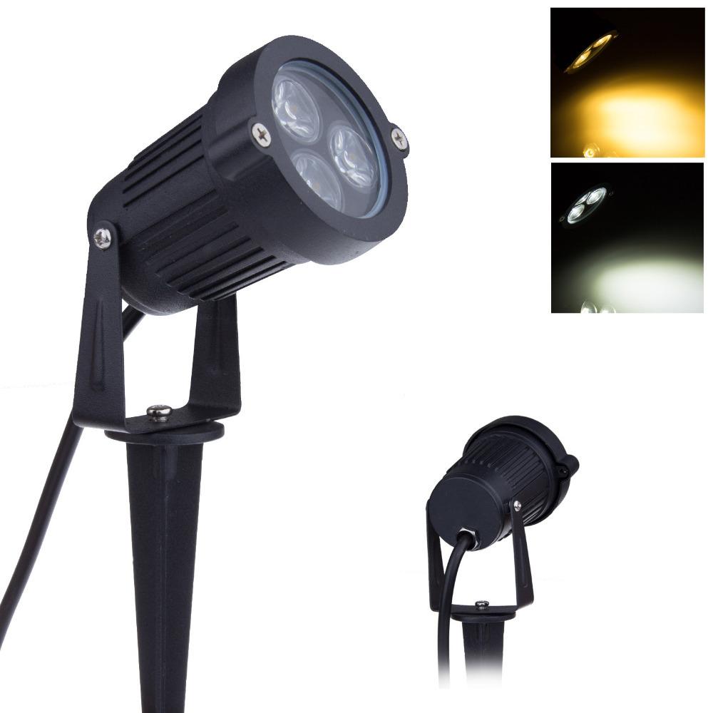 Buy 12V Led Garden Lights 3 3W IP65 Waterproof Outdoor Spot