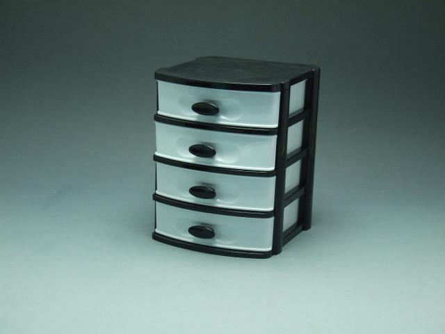 4-layer-plastic-drawer-drawer-storage-drawer-mini-storage ...