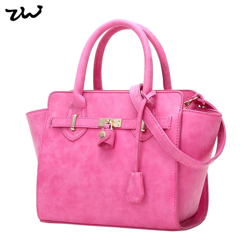 ZIWI New Arrival 3 Colors Women Handbags Lock Design Tote Bag PU Leather Solid Colour Shoulder Bags SX035<br><br>Aliexpress