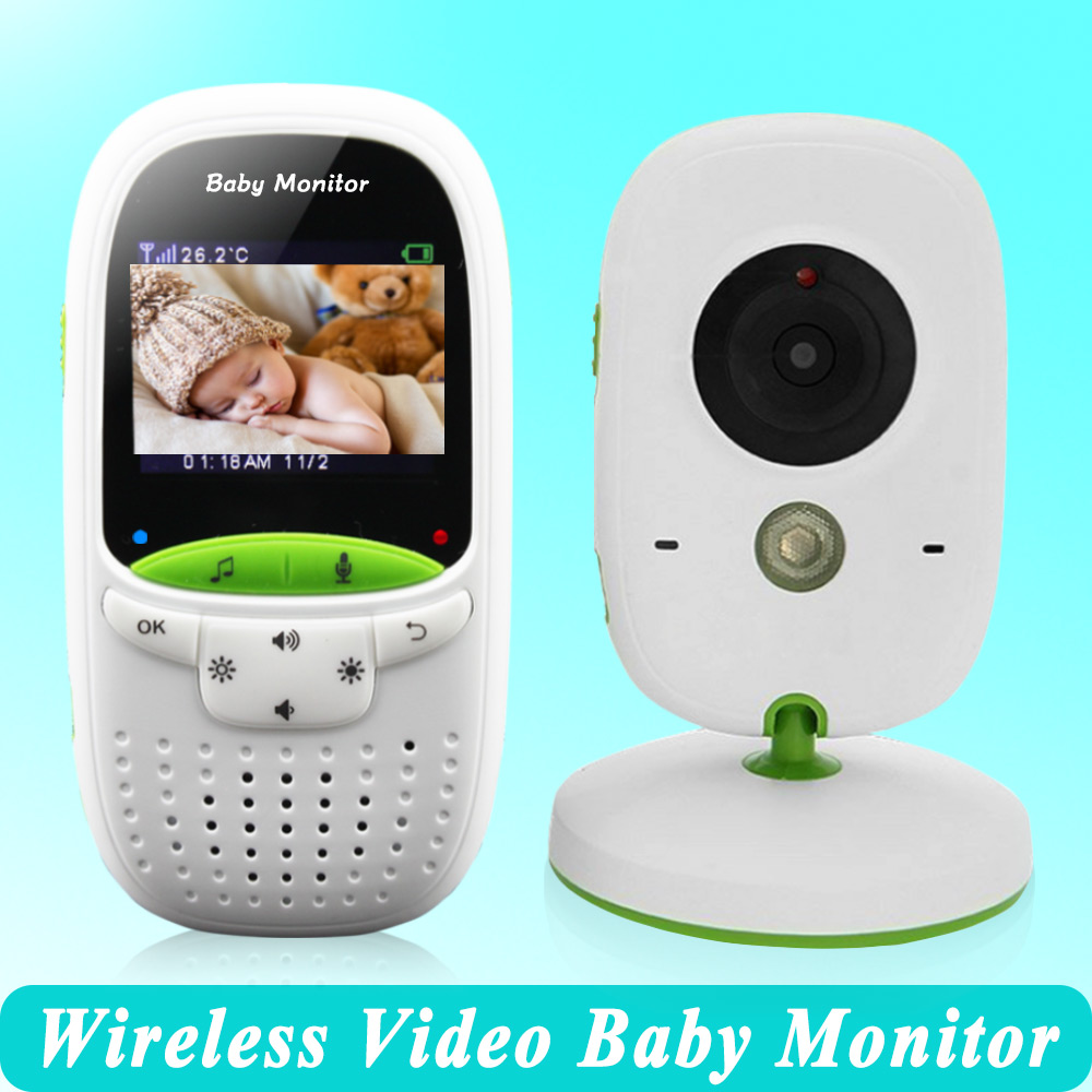 high quality wireless 2 0 inch video color baby monitor security camera baby nanny intercom. Black Bedroom Furniture Sets. Home Design Ideas