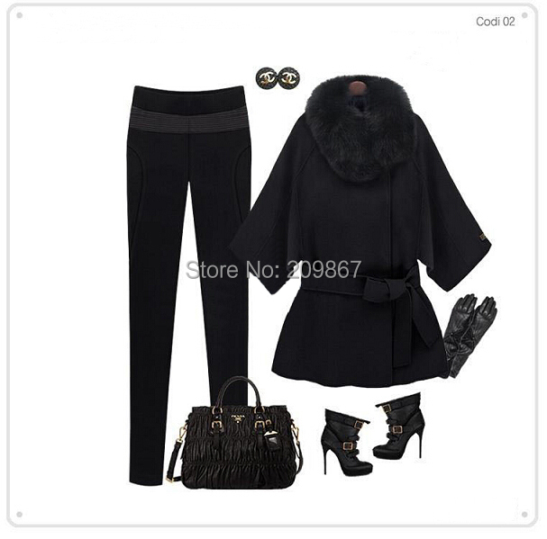 Женская одежда из шерсти Top brand 2015 [270] , designcoat S,M, L