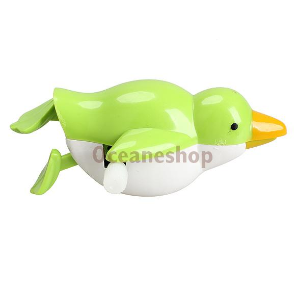 New Wind up Sea Bird Bath Diver Toy Swimming Seafowl Baby Kids Bathing Toys(China (Mainland))