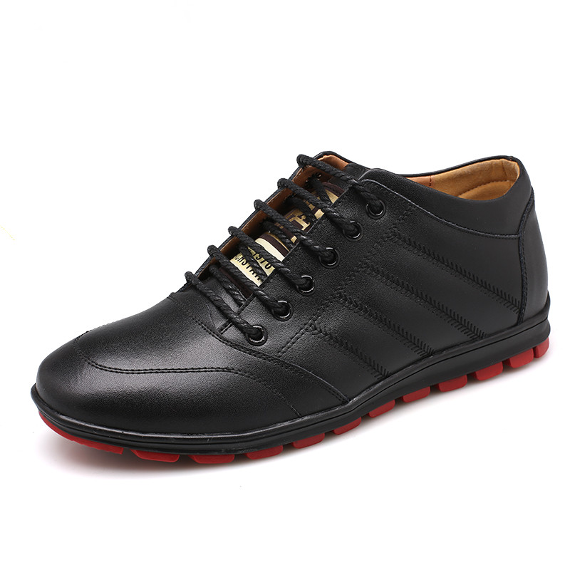 New Shoes Men Sneakers 2015 Fashion Brand PMA Men Sneakers Luxury Brand Invisible increase Genuine leather