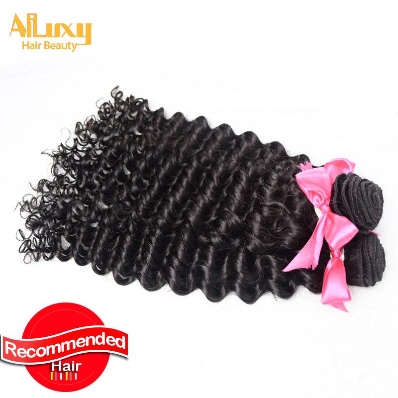 Luxy hair orduct, 5pcs/lot, 100g/piece, human hair weaves, virgin deep wave hair extension, best hair quality <br>