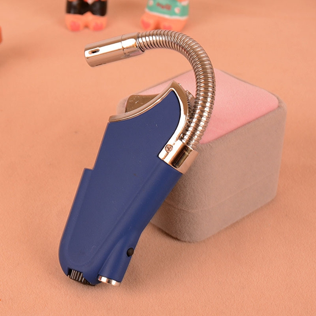 Long Convenient Multifunction Bending Lighters Home Kitchen Flame Fire Lighters(China (Mainland))