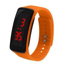 Esportes das mulheres dos homens relógio led pulseira de segunda geração relógio estudante esportes silicone eletrônico pulso inteligente y50(China)