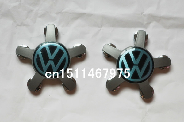 50pcs/lot 140mm VW Emblem Wheel Center Caps with 5 pins Volkswagen Badge Wheel Cover Hub cover For Eos GTI Tiguan Golf B6 Passat(China (Mainland))