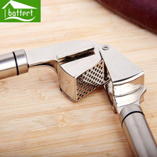 Garlic Presses Tools Kitchen Gadgets Stainless Steel Fruit & Vegetable Cooking Tools Kitchen Accessories HPT1003