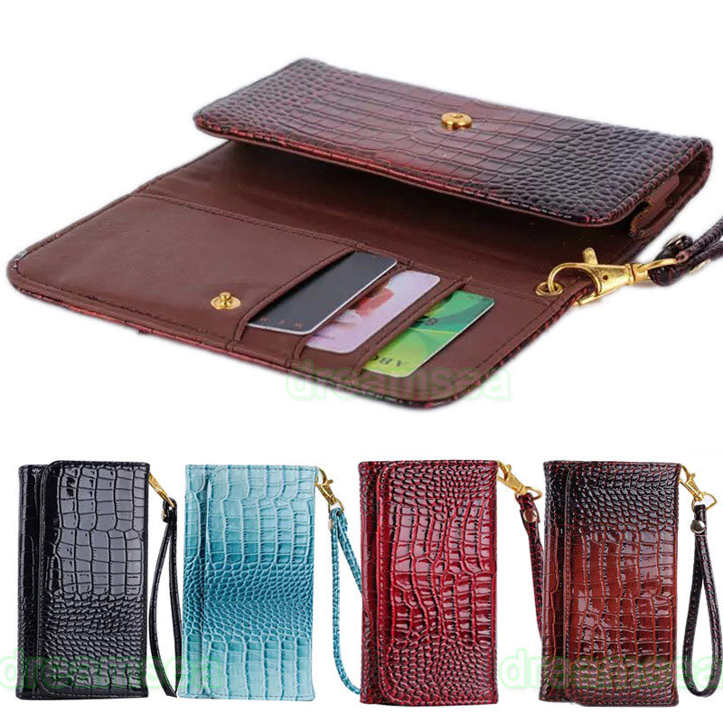 Deluxe Crocodile Style Bag Wallet Leather Skin Case Cover LG Optimus L9 II 2 / D605 - Red Sun . Best Stor store
