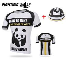 Men Sport Running Short Jersey With Cap Set Training Sportswear Racing Cycling Breathable Short Sleeve Shirt Riding Hat Cap Set(China (Mainland))