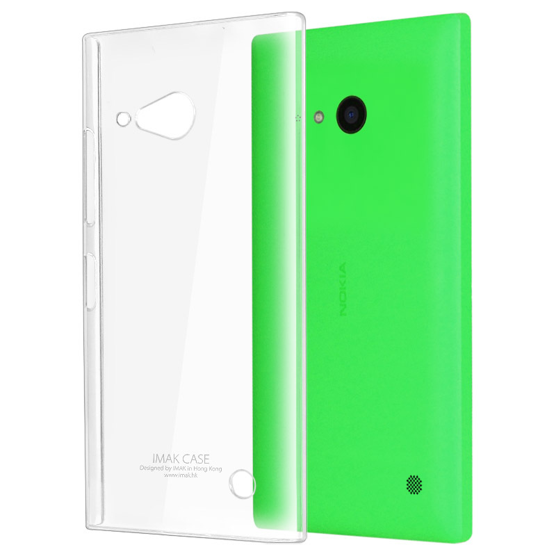 Genuine Brand New IMAK Crystal series Air case PC Ultra-thin Hard Skin Case Cover Back Nokia Lumia 730 735 - Mico communication co.,ltd store