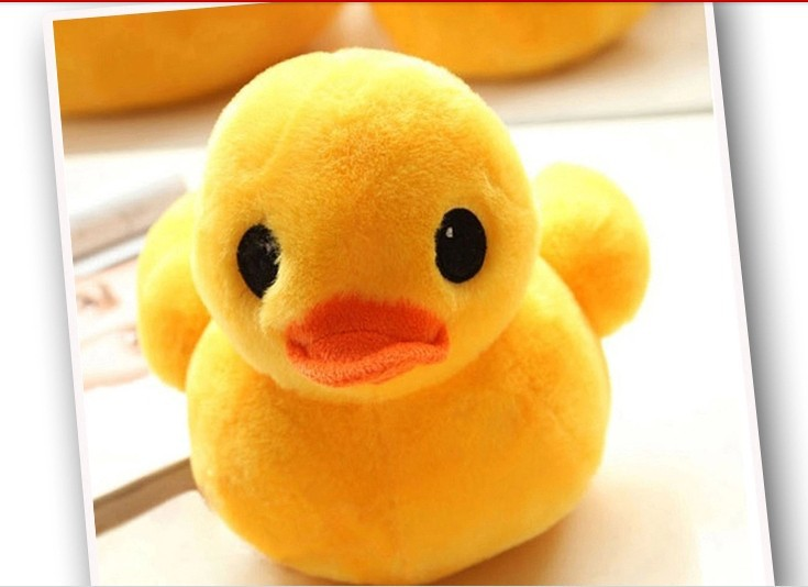 stuffed animal lovely little yellow duck plush toy 30 cm duck doll 12 inch toy s4670(China (Mainland))