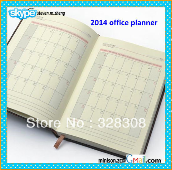 Monthly Calendar Notebook : Daily planner day per page weekly monthly