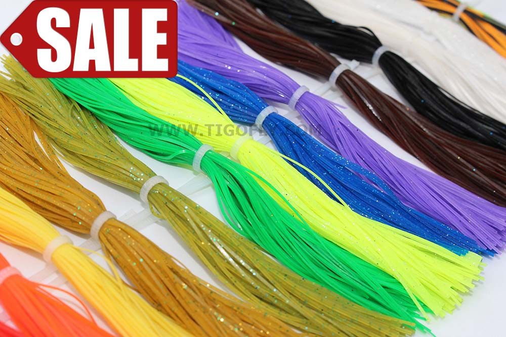 Free Shipping! 16 bundles/lot Plain Color Silicone Legs Pearl Flake DIY Fly Tying Material Squid rubber thread silicone skirts<br><br>Aliexpress