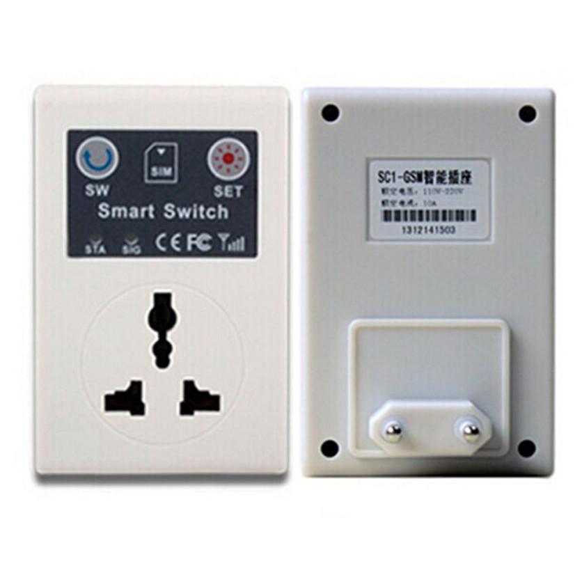 SimpleStone Cellphone PDA GSM RC Remote Control Socket Power Smart Switch SC EU Plug 60413(China (Mainland))