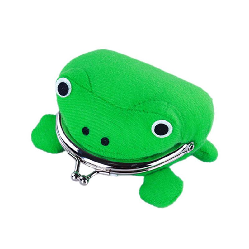 Naruto Kiba Frog Purse wallet purse gift animation around 12cm(China (Mainland))