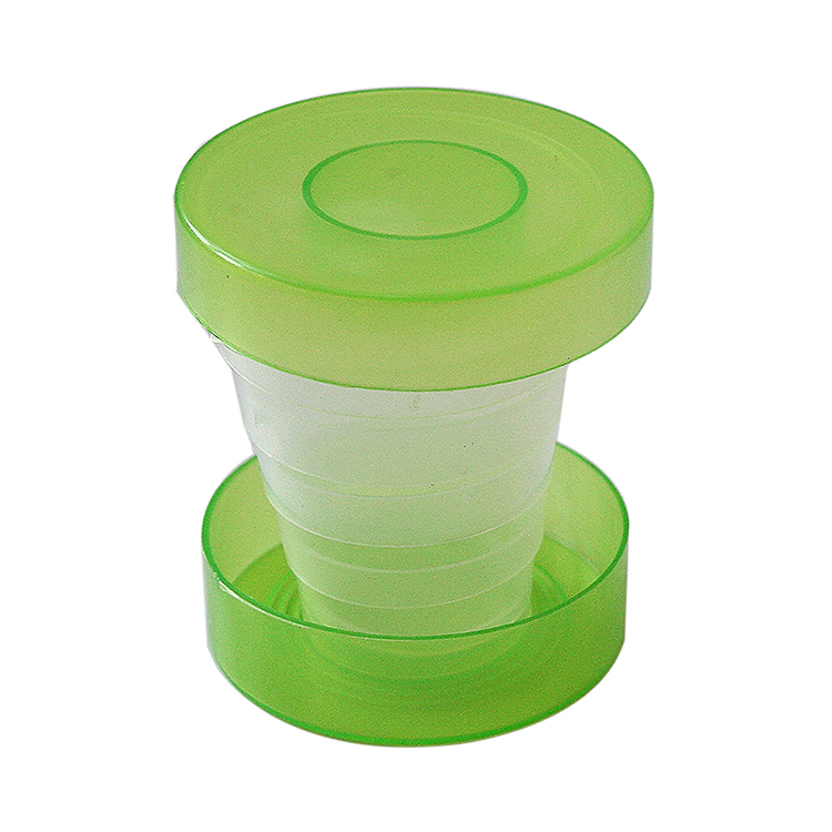 Creative Silicone Travel Camping Collapsible Outdoor Folding Cup Retractable Drinking Water Cup