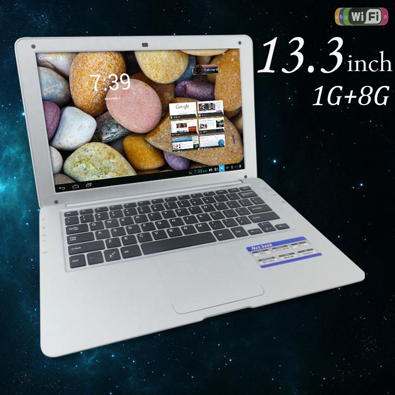2015 купить дешевые 13.3 дюймов мини двухъядерный ноутбук нетбук андроид 4.2 клавиатура нетбук с русской клавиатурой