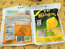 Philippine dried mango 7d dried mango snacks Dried Fruit food 100g free shipping