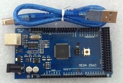 Mega 2560 R3 Mega2560 REV3 ATmega2560-16AU Board + USB Cable compatible for arduino(China (Mainland))