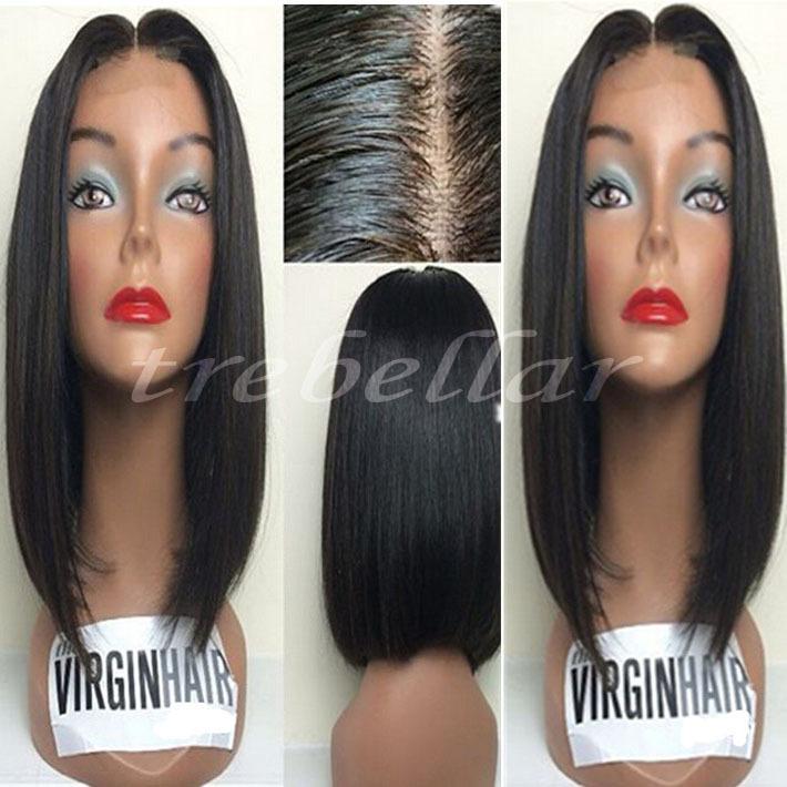 Brazilian Bob Wigs Full Lace Bob Human Hair Wig Full Lace Human Hair Wigs Short Bobs Brazilian Human Hair Bob Wigs For Women(China (Mainland))