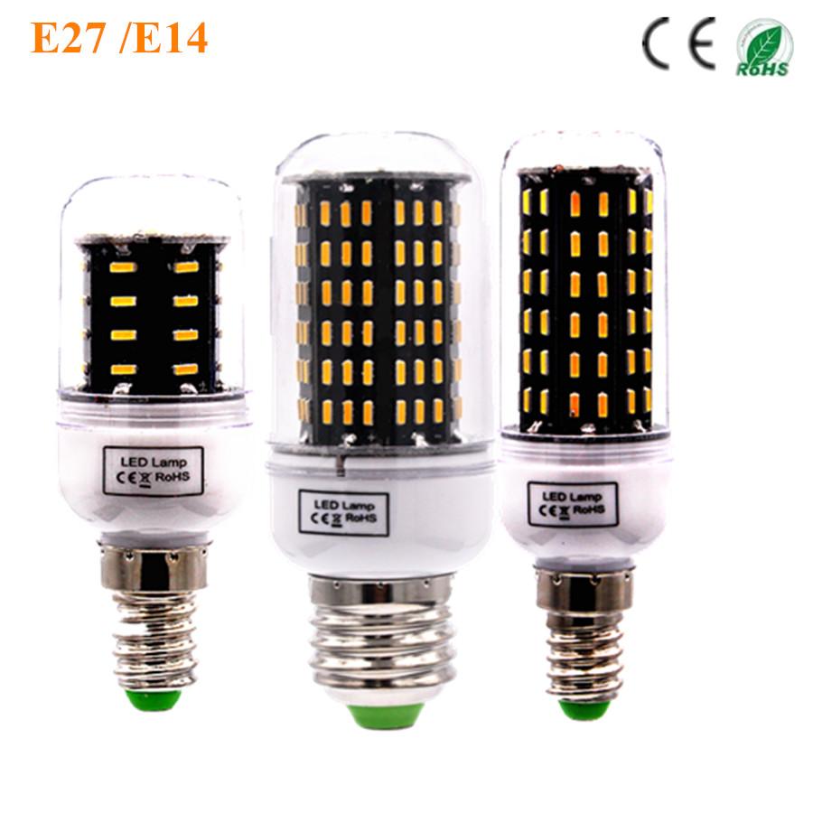 LED E27 Bulb Lamp Corn Ceiling Spot Light High Bright 220V 110V 4014 SMD 138LED 96LED 72LED 56LED 36LED Household energy-saving(China (Mainland))