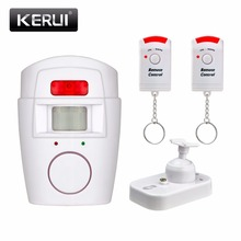 Home Security PIR MP Alert Infrared Sensor Anti-theft Motion Detector Alarm Monitor Wireless Alarm system+2 remote controller(China (Mainland))