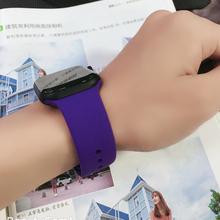 Ремешок для Apple Watch группа 4 3 Iwatch Группа 42 мм 38 44 40 Часы correa спортивный силиконовый браслет наручные Аксессуары для наручных часов(China)