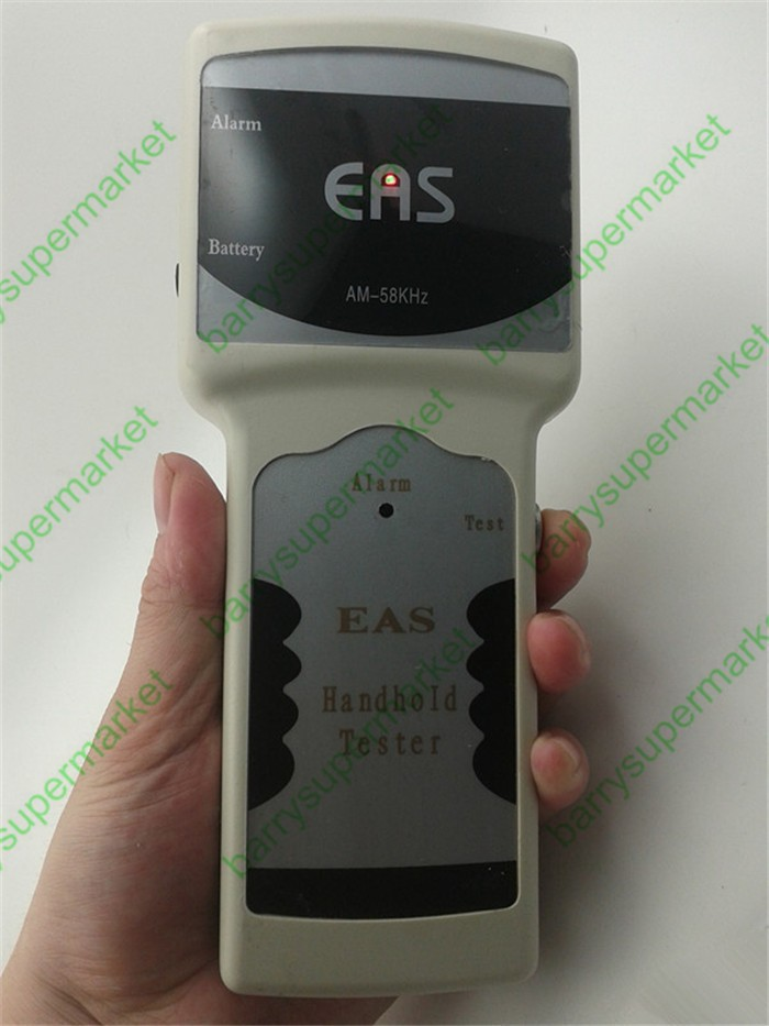 Acoustic handheld detector magnetic EAS anti-theft tag detector/58 KHZ frequency detector alarm detector<br><br>Aliexpress