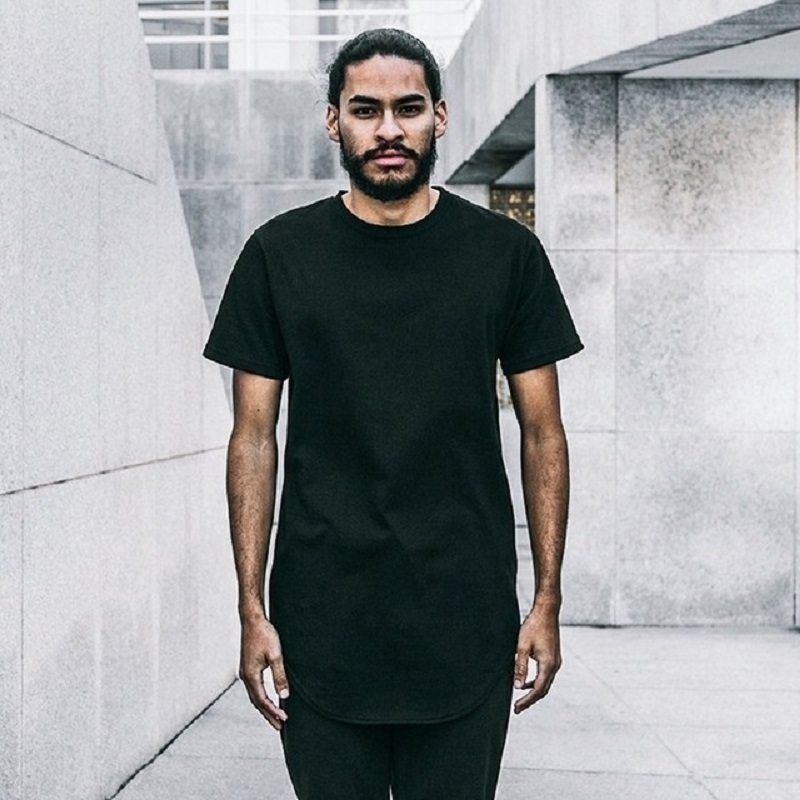 Aliexpress.com Comprar Hip Hop Tyga estilo Swag hombres Crewneck skate skateboard hombres camiseta más del tamaño 4 estilo S XXL Kanye West tee desigual