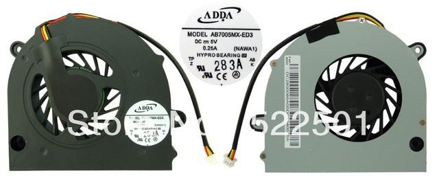 Original brand new laptop cpu fan for Lenovo 3000 G450 G450A G450M G455 G550 P/N AB7005MX-ED3(NAWA1)