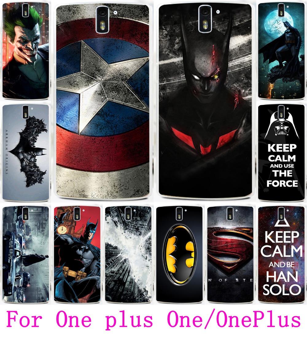 Гаджет  Hot Captain America Batman Bat Man Painting Case For Oneplus One Case Cover Hard Plastic Cover One Plus One Protector Skin Shell None Телефоны и Телекоммуникации