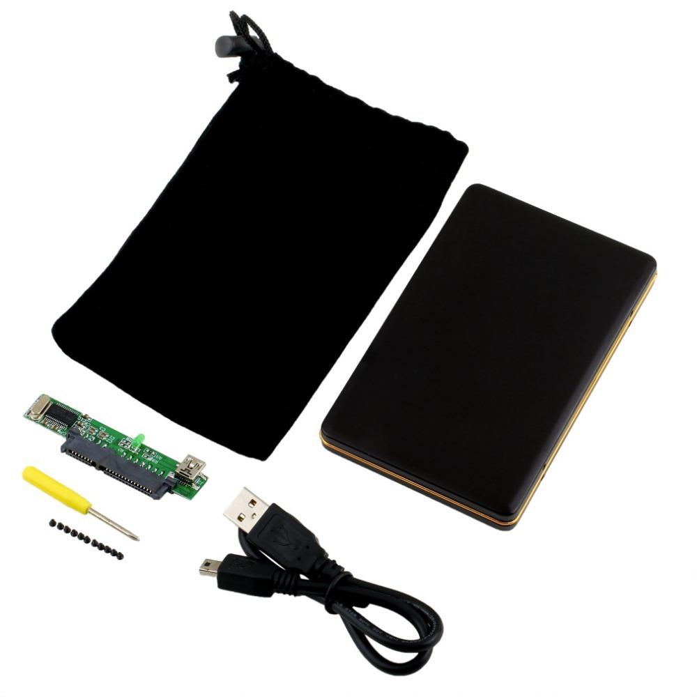 1pc 2 5 inch SATA HDD Box USB 2 0 HDD Hard Drive Disk SATA External