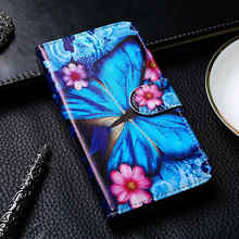 Flip Leather Case For Leagoo Kiicaa Power Mix Leather Case For Leagoo S8 M8 Pro Leather Cover For Leagoo M7 M9 Painted Wallet PU(China)