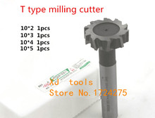 Buy Free 4pcs/set 10mm Straight shank T cutter superhard T T slot cutter cnc milling machine tool10mm * 2mm 3mm 4mm 5mm for $23.35 in AliExpress store