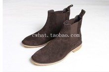 chelsea boots kanye west boots leather 1:1 fishion life style(China (Mainland))