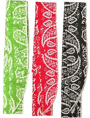 Black Red Green Non-toxic Wrist Cycling Ice Cooling Neck Wrap Cooler Scarf(China (Mainland))