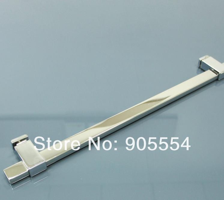 500mm chrome color Free shipping 2pcs/lot  304 stainless steel hight quality bathroom glass door handle<br><br>Aliexpress