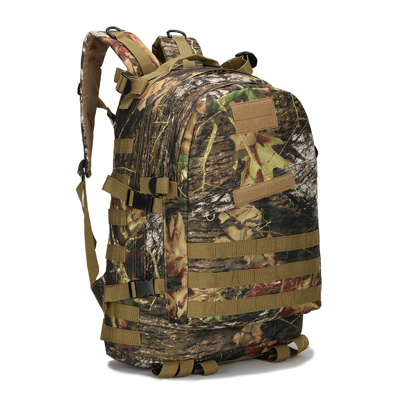 Mountaineering Bag 3D Military Backpack Nylon Waterproof Male Female Backpack Army Fans Camouflage Travel Bag X45(China (Mainland))