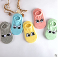 5 Pairs lot Cotton Baby Socks 1 10 Years Children Floor Socks Lovely Cartoon Eyes Boat