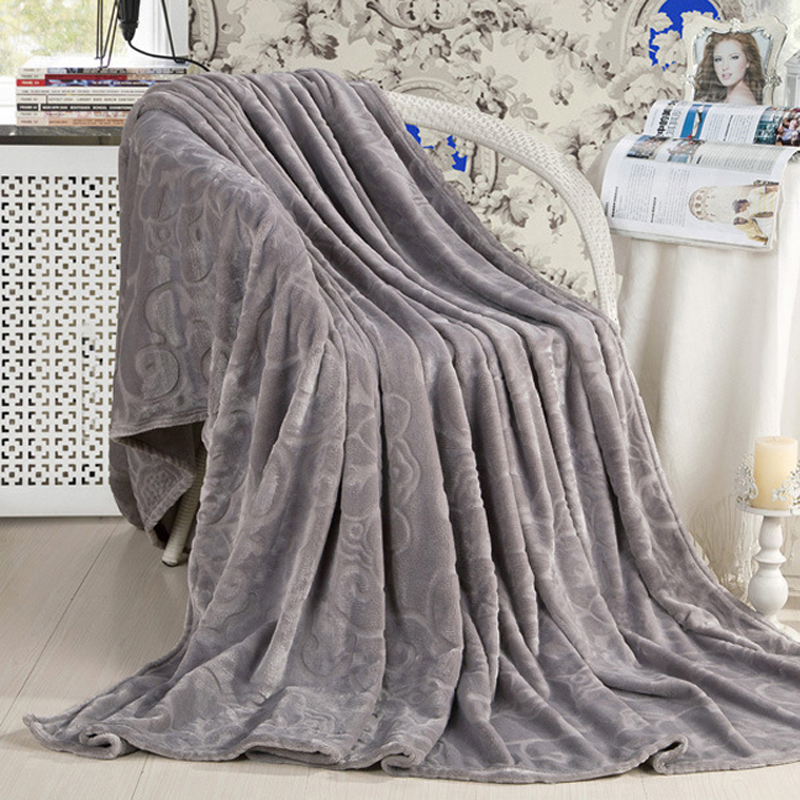 Yafinniti Flannel Fabric blanket Soft Blanket on bed Coral Fleece Warm Throw Blankets travel blanket(China (Mainland))