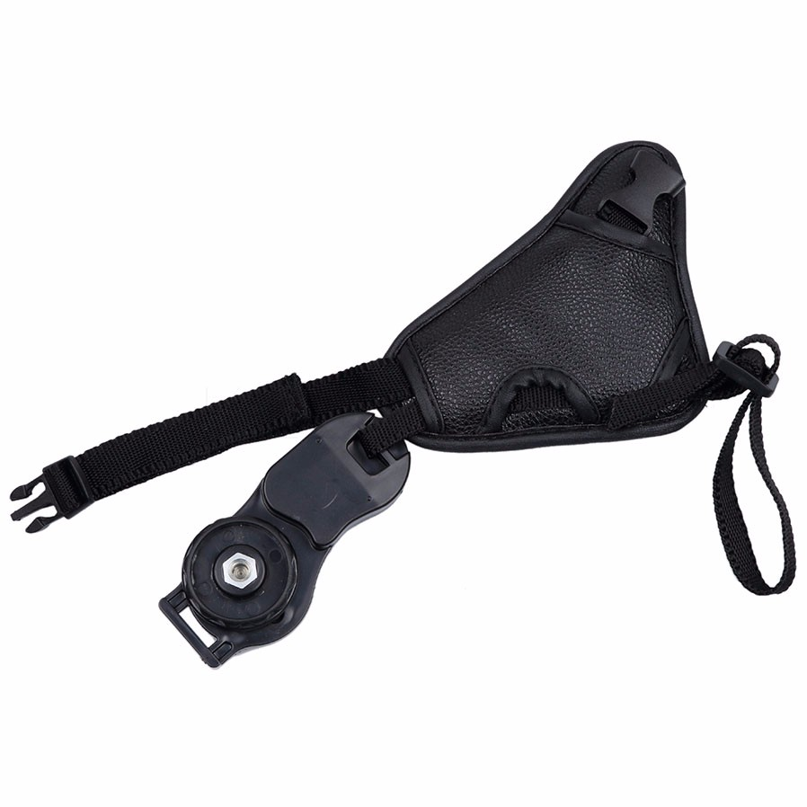 image for AP Hot Camera Bag PU Leather Hand Grip Strap Camera Strap Wrist Triang