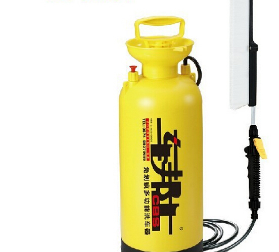 Hot Car wash device portable household 8L high pressure automatic car washing machine car washing device car(China (Mainland))