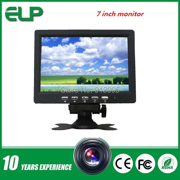 "7"" mini PC/AV/TV touchscreen LCD monitor car security or building surveillance system.(China (Mainland))"